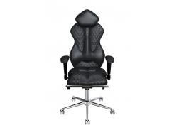 Эргономичное кресло KULIK SYSTEM ROYAL Черное (501)
