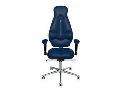 Эргономичное кресло KULIK SYSTEM GALAXY Синее (1105)