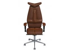 Эргономичное кресло KULIK SYSTEM JET Коричневое (302)