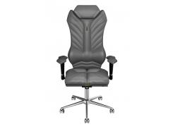 Эргономичное кресло KULIK SYSTEM MONARCH Серое (204)