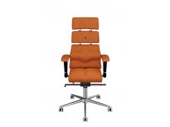 Эргономичное кресло KULIK SYSTEM PYRAMID Оранжевое (904)