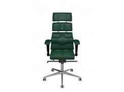 Эргономичное кресло KULIK SYSTEM PYRAMID Зеленое (903)
