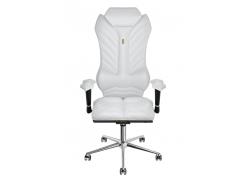 Эргономичное кресло KULIK SYSTEM MONARCH Белое (205)