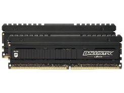 Оперативная память для компьютера DDR4 16GB (2x8GB) 3600 MHz Ballistix Elite Black Micron BLE2K8G4D36BEEAK (U0380482)