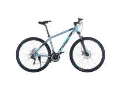 "Велосипед Trinx Majestic M136Pro 2019 29"" 18"" Matt-Grey-Black-Cyan (M136ProMGBC)"