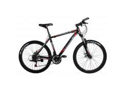 "Велосипед Trinx M136 26""х19"" Matt-Black-Grey-Red (10030017)"