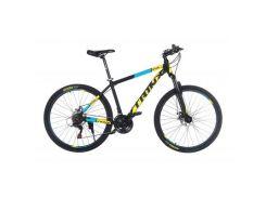 """Велосипед Trinx Majestic M116Elite 2019 27.5"""" 21"""" Matt-Black-Yellow-Blue (M116Elite.21MBYB)"""