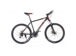 "Велосипед Trinx M136 26""х17"" Matt-Black-Red-Grey (10030094)"