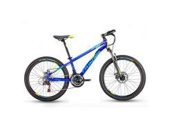 "Велосипед Trinx Majestic M134 2019 24"" 12.5"" Blue-Yellow-Blue (M134BYB)"