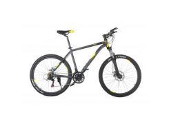 """Велосипед Trinx M136 26""""х19"""" Matt-Grey-Yellow-Black (10030073)"""