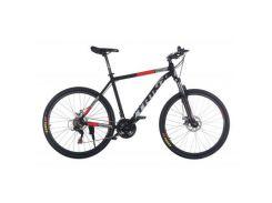 "Велосипед Trinx Majestic M116Elite 2019 27.5"" 21"" Matt-Black-Grey-Red (M116Elite.21MBGR)"