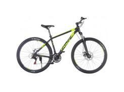 "Велосипед Trinx Majestic M136Pro 2019 29"" 18"" Matt-Black-Grey-Green (M136ProMBGG)"