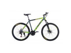 """Велосипед Trinx Majestic M116Elite 2019 27.5"""" 21"""" Matt-Grey-Green-Yellow (M116Elite.21MGGY)"""