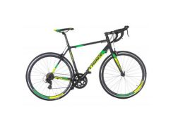 Велосипед Trinx Tempo 2.0 700C*500MM Matt-Black-Green (10030047)