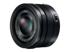 Объектив PANASONIC Lumix G 15mm f/1.7 Leica Black (H-X015E-K)