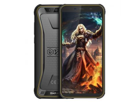 Мобильный телефон Blackview BV5500 Pro 3/16GB Yellow (6931548305811)