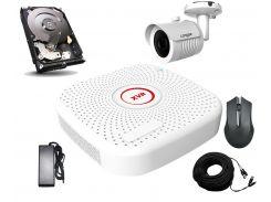 Комплект AHD видеонаблюдения Longse XVR2004PGH1N