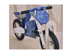 Велобег деревянный Solid Design Jacka Синий