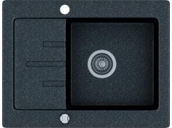 Кухонная мойка KGS V 4565 1B1D BLACK METALLIC