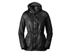 Плащ Eddie Bauer Womens Somerland Convertible Trench Coat L Черный (5048BK-L)