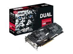Видеоокарта Asus 4Gb DDR5 256Bit DUAL-RX580-O4G PCI-E