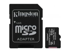 Карта памяти Kingston 512GB microSD class 10 A1 Canvas Select Plus (SDCS2/512GB)