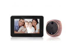 Видеоглазок wifi дверной с датчиком движения и записью Kivos KR06, 1 Мп, 4.3 экран (100003)