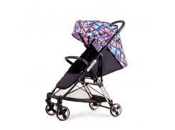 Прогулочная коляска Ninos Mini Diamond Черный с фиолетовым (NM2019BD)