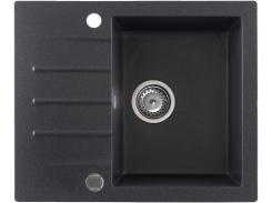 Кухонная мойка KGS A 4560 1B1D BLACK METALLIC