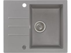 Кухонная мойка KGS A 4560 1B1D GREY METALLIC