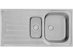 Кухонная мойка KSS G 604 1,5B1D SMOOTH