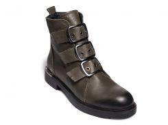 Ботинки EVROMODA 22-04 39 Темно-зеленые