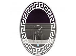 Зеркало овальное с LED подсветкой SmartWorld Sakva 170x80x3 см (1040-d18-80x170x3)
