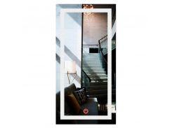Зеркало прямоугольное с LED подсветкой во весь рост SmartWorld Crasula 110x60x3 см (1011-d376-110х60х3)