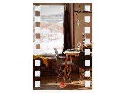 Зеркало прямоугольное с LED подсветкой SmartWorld Brasica 110x60x3 см (1005-d401-110х60х3)
