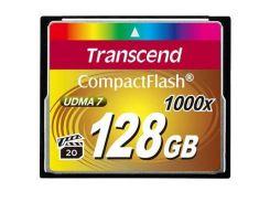 Карта памяти Transcend 128Gb Compact Flash 1000x (TS128GCF1000)