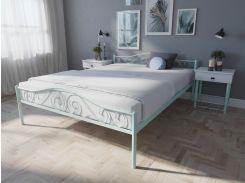 Кровать MELBI Элис Люкс Двуспальная 140х200 см Бирюзовый