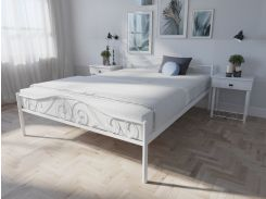 Кровать MELBI Элис Люкс Двуспальная 160х190 см Белый