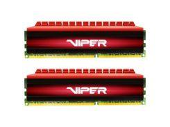 Модуль памяти для компьютера DDR4 32GB (2x16GB) 3200 MHz Viper 4 Red Patriot (PV432G320C6K)