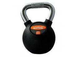 Гиря LiveUp Kettel Dumbell 20 кг Black (LS2044-20)