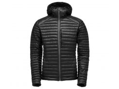 Куртка чоловіча Black Diamond M's Forge Hoody S Black (BDQT06_015_S)