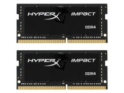 Модуль памяти KINGSTON SO-DIMM 2x16GB/2666 DDR4 HyperX Impact (HX426S15IB2K2/32)