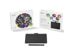 Графический планшет Wacom Intuos S Bluetooth black (CTL-4100WLK-N) (WY36CTL-4100WLK-N)