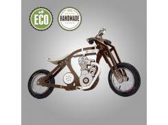 Велобег деревянный Solid Design Harlik Коричневый