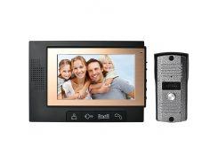 Видеодомофон DP702 Черный (30-SAN259)