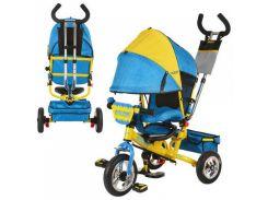 Велосипед детский Profi M5361-01UKR Желто-голубой (intM5361-01UKR)