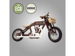 Велобег деревянный Solid Design Bartka коричневый