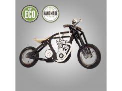 Велобег деревянный Solid Design Harlik черный