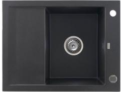Кухонная мойка KGS M 4565 1B1D BLACK METALLIC