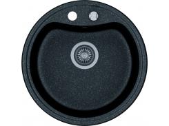 Кухонная мойка KGS T 51 1B BLACK METALLIC